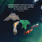 Cover of Liquid pipeline report by Maude Barlow