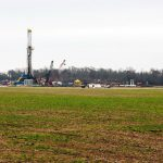 Natural Gas Drilling Site in Haynesville Shale, Louisiana; Photo by Daniel Foster
