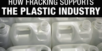title photo FOE report »how fracking supports the plastic industry«